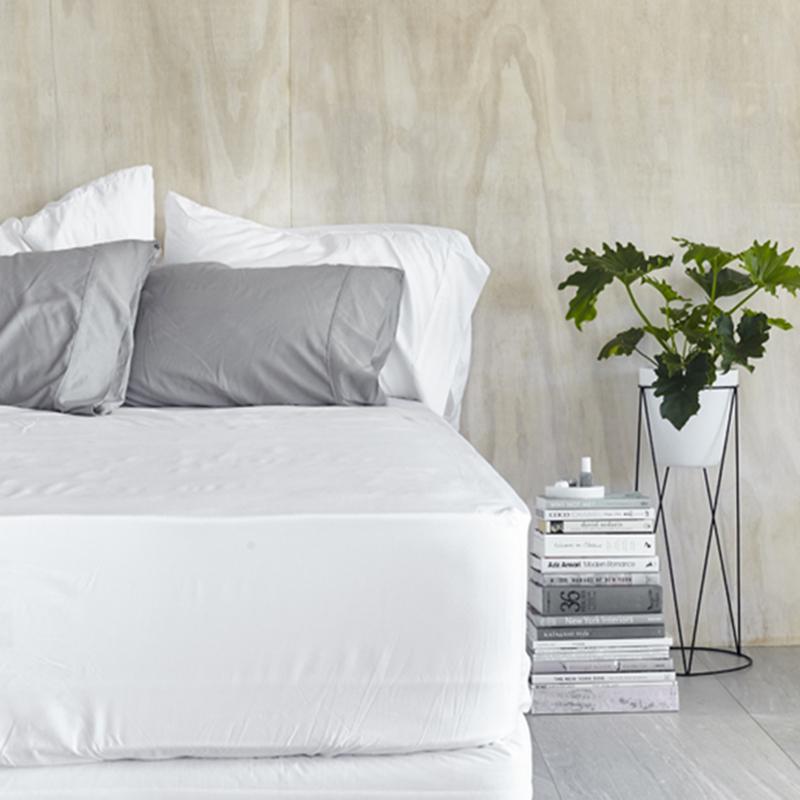 Charming 100% Organic Bamboo Fitted Sheet U0026 Pillowslips