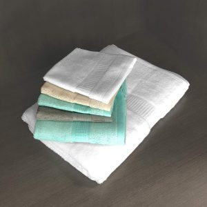 bamboo towels - multi colour