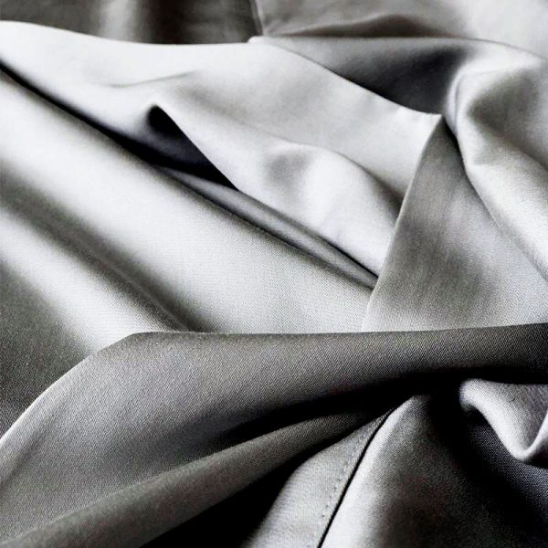 organic bamboo sheet detail - steel