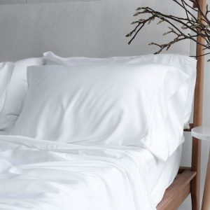 Bamboo Pillowslip - White