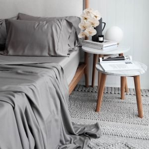 Bamboo Sheet Set - Steel