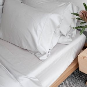 Bamboo Pillowslip - Silver