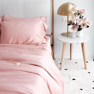 Bamboo Quilt Cover - Rose