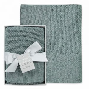 Bamboo Knit Blanket - Whisper