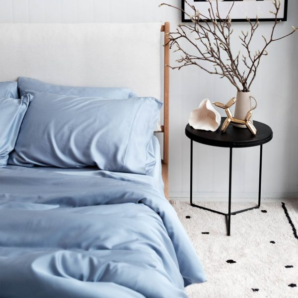 Bamboo Quilt cover - Chambray
