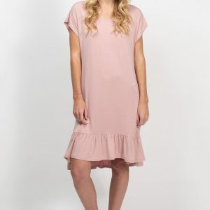 Candice Bamboo Tee Dress - Rose