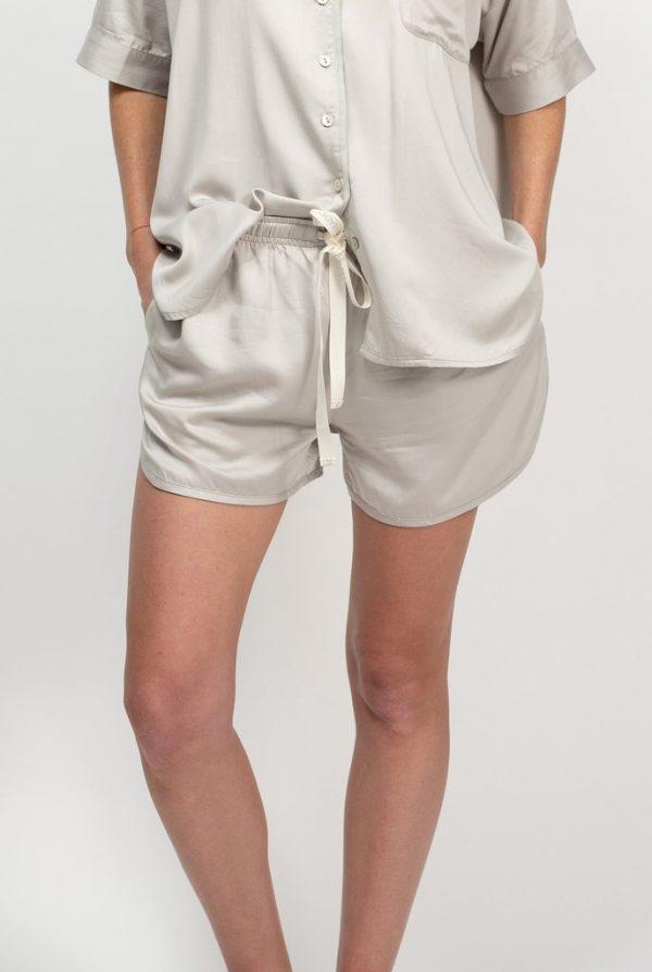 Bamboo Shorts - Silver