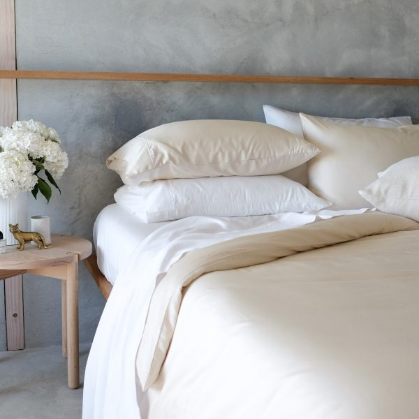Bamboo Quilt Cover - Oat