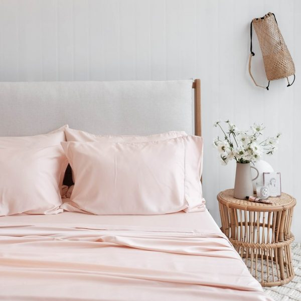 Bamboo Sheet Set - Blush