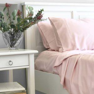 Bamboo Sheet Set - Blush Pink