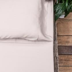 bamboo sheet set - blush pink blush