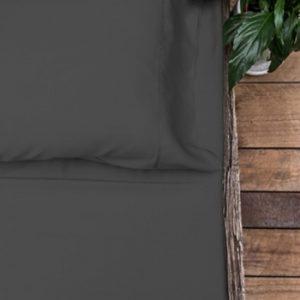 bamboo sheet set - charcoal