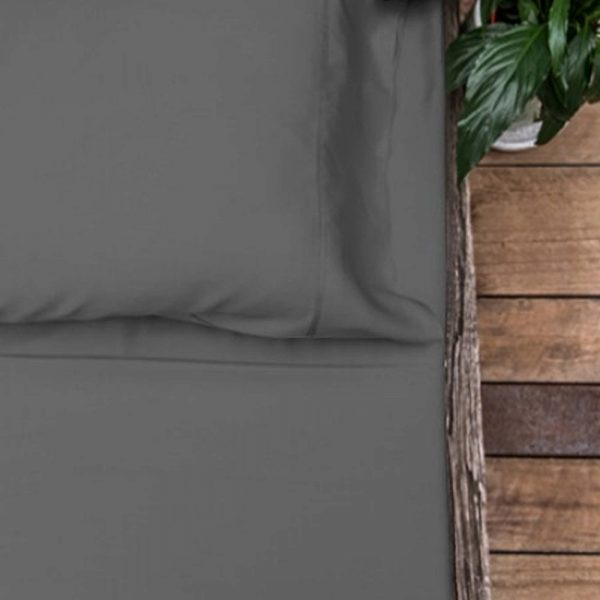 Bamboo Sheet Set - Charcoal