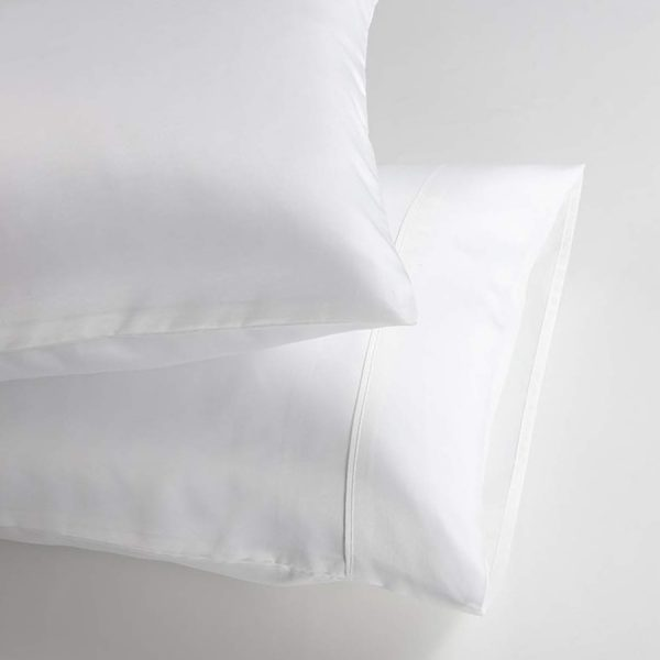 Bamboo Pillowcase Set - White
