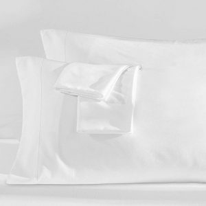 Bamboo Pillowcase Set - White