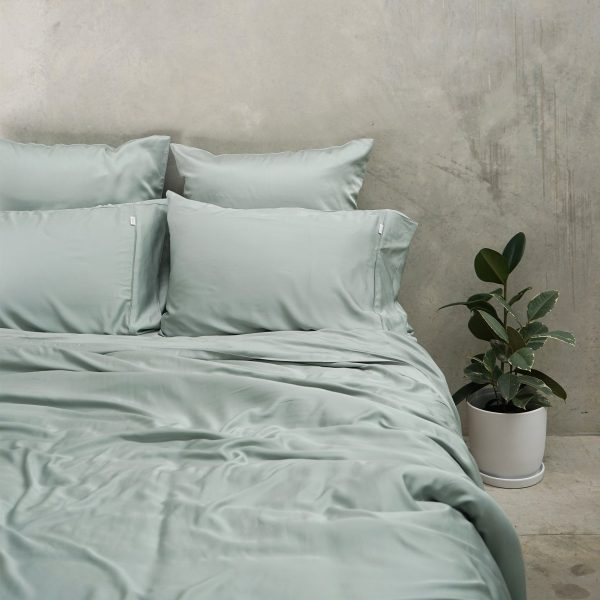 Bamboo Quilt Cover - Sage