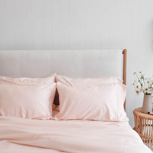 Quilt cover set - Blush