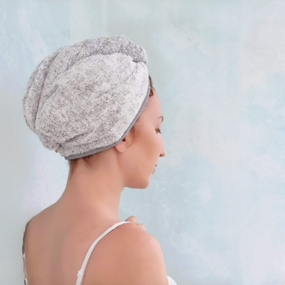 USA STOCK RAPID DRYING HAIR TOWEL-BEST PRICE-FAST SHIPPING