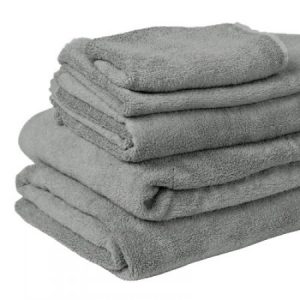 Bamboo Towels - Natural Grey