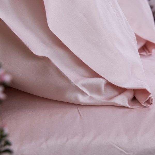 Bamboo Pillowcase Set - Blush Pink