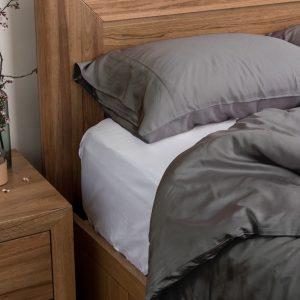 Bamboo Quilt Cover Set - Charcoal