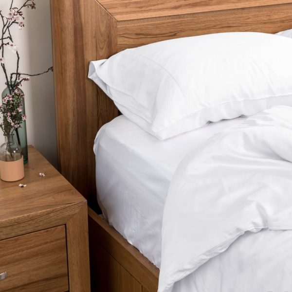 Bamboo Quilt Cover - White