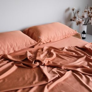 Bamboo Sheet Set - Rust