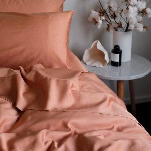 Bamboo Quilt Cover - Rust