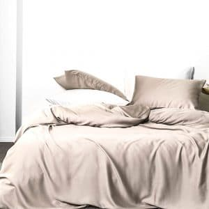 Bamboo sheet set - Latte